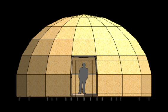 Kuppelmaja Z8.3