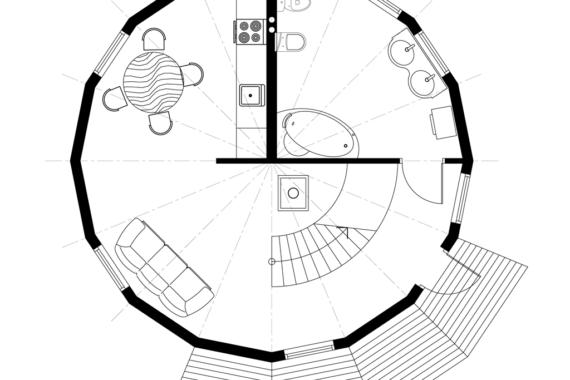 Kuppelmaja Z8.4
