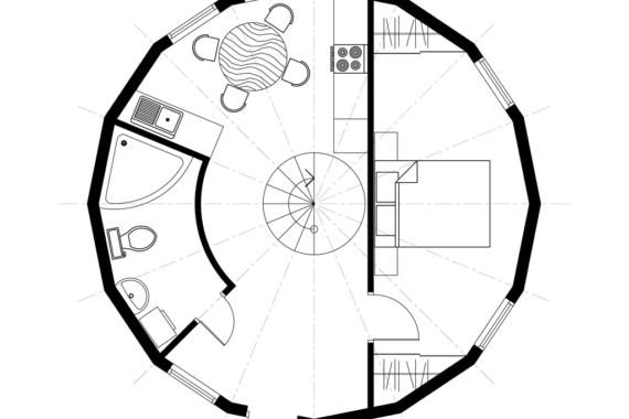 Kuppelmaja Z8.8