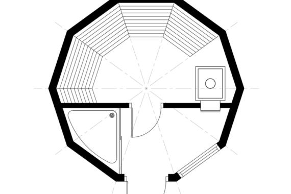 Kuppelmaja Z4(6)